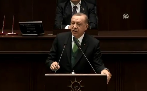 VİDEO | Bakanların yer kavgası yaptığı grup toplantısında Erdoğan ne demişti?