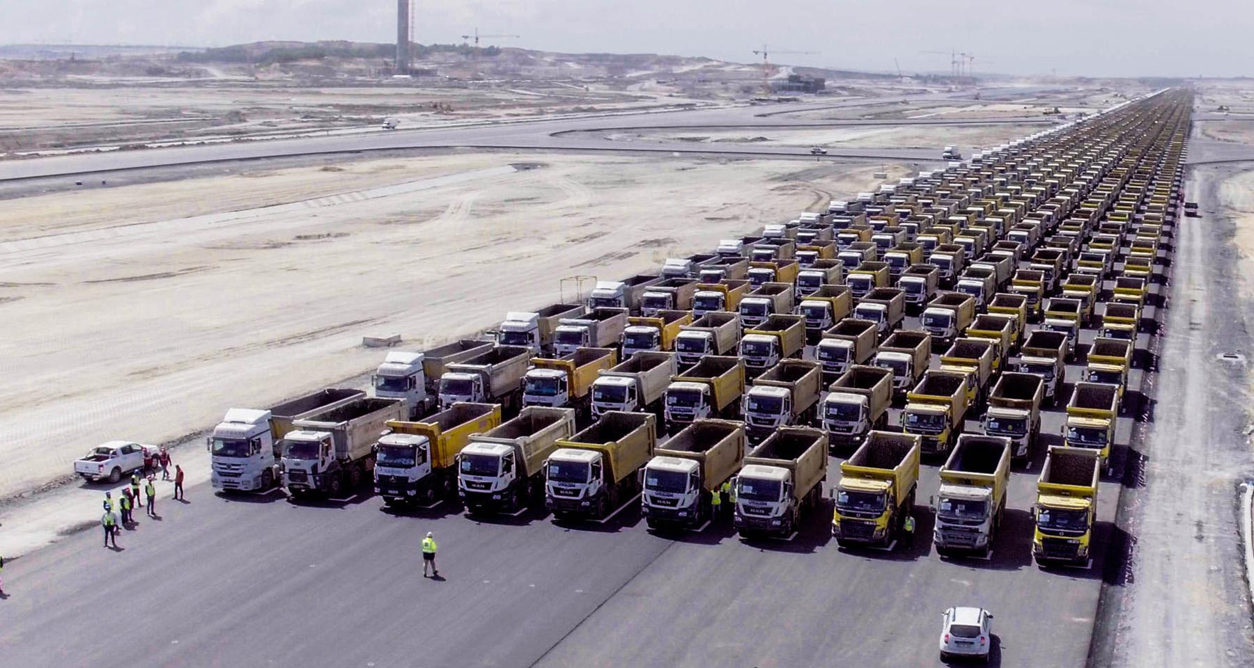 Otobüs ve kamyonlar için seferberlik emri