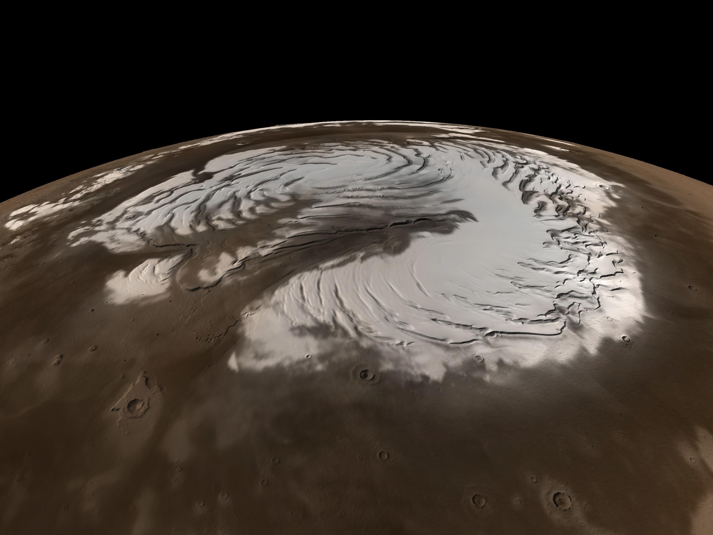 Mars'ta temiz su bulundu