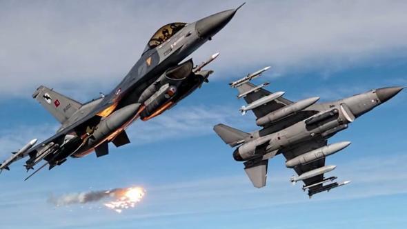 Yeni Şafak: Savaş uçakları Menbiç'i vurdu