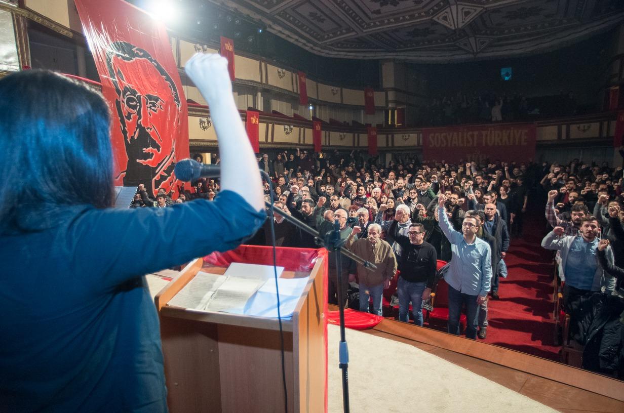 TKH İstanbul'da Onbeşler'i andı: Bu umudu örgütlemeye çağırıyoruz!