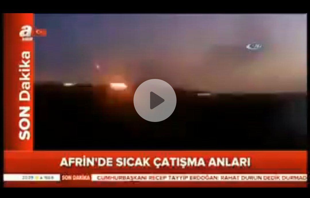 A Haber'in 'Afrin operasyonu' diye paylaştığı görüntüler 2012 yılından