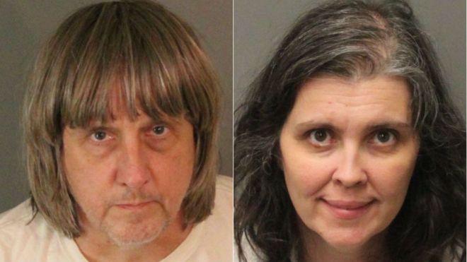 13 çocuğu zincirleyip esir tutan çift yakalandı