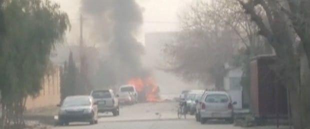 'Save The Children' ofisine bombalı saldırı: 12 kişi yaralandı