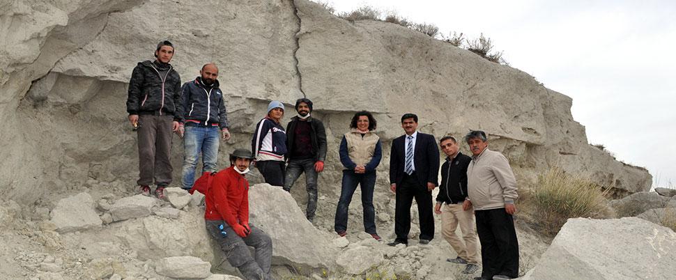 Afyon'da 12 milyon yıllık hayvan fosili bulundu!