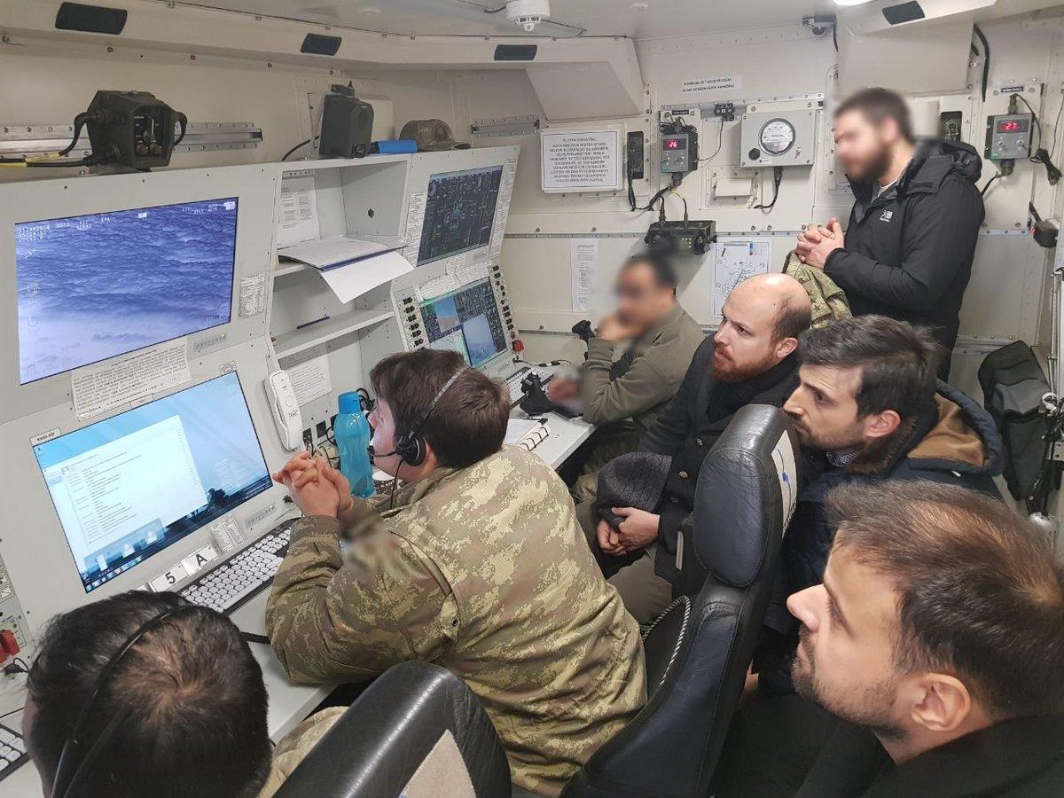 Erdoğan'ın damadı ve oğlu operasyon odasında