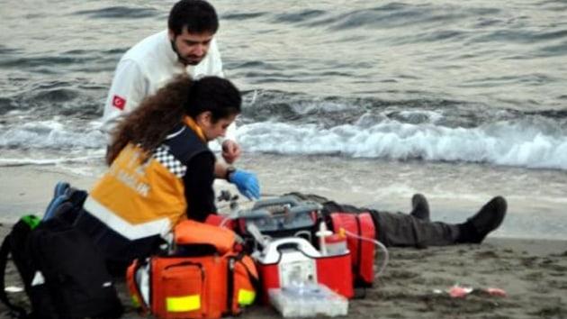 Koşarak denize atlayıp hayatına son verdi