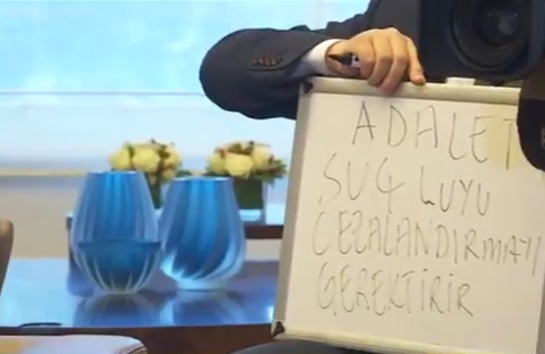 VİDEO | Erdoğan'ın kopya çektiği görüntüler kameralara böyle yansıdı