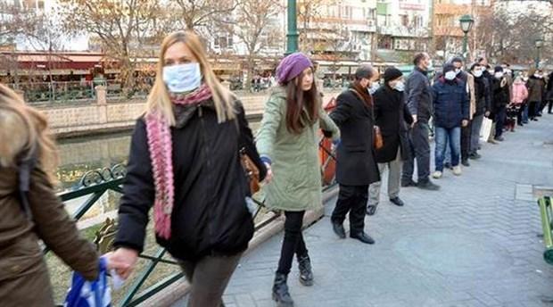 Şehre yapılmak istenen termik santral Eskişehirliler tarafından protesto edildi