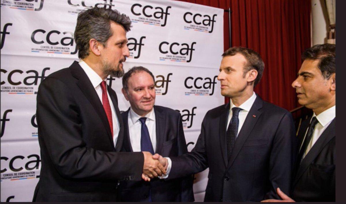 Fransızlardan HDP'li Garo Paylan'a nişan