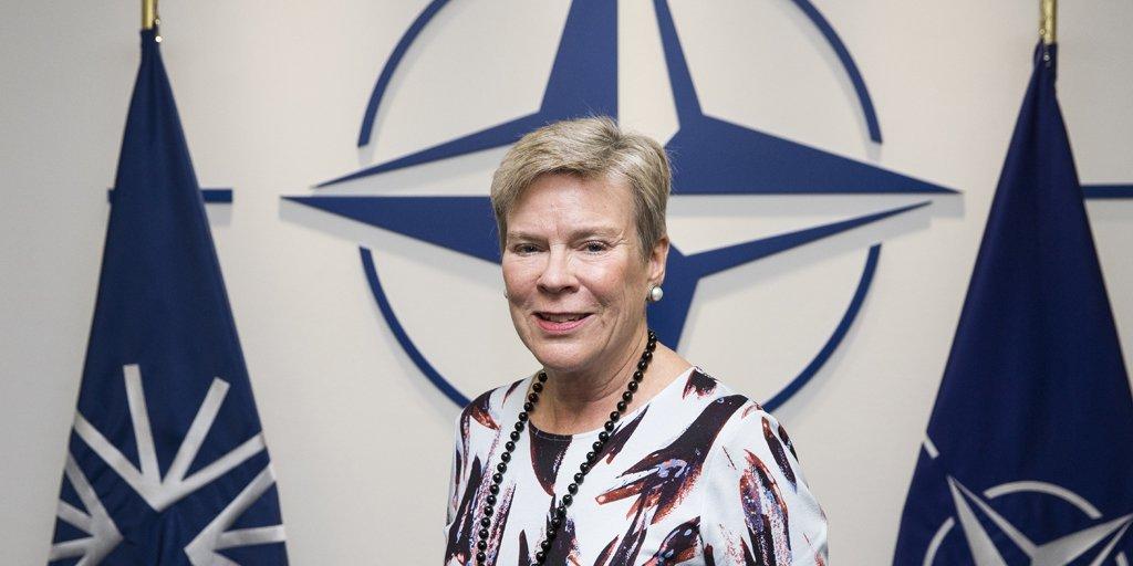 NATO Genel Sekreter Yardımcısı Gottemoeller, Ankara'ya geldi