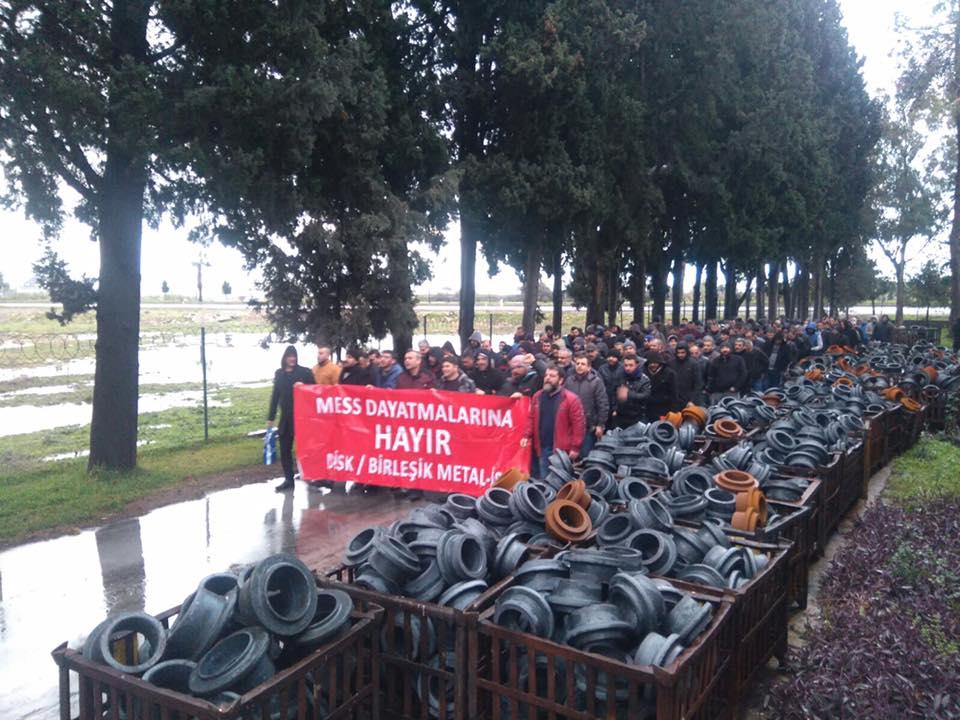 Metal işçileri kararlı: Greve hazırız, yasağı tanımıyoruz!