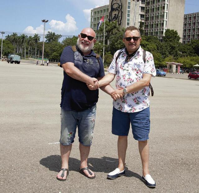 Ünlü oyuncular Küba'yı anlattı