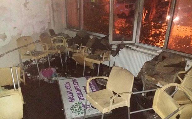 Pendik'te HDP ilçe binasına saldırıda yeni gelişme