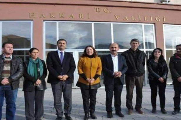 Valilik HDP'li vekilleri protokolden çıkardı