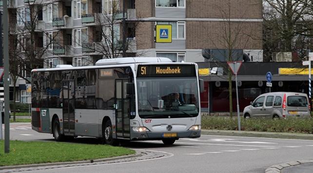 Hollanda'da toplu taşıma emekçileri grevde