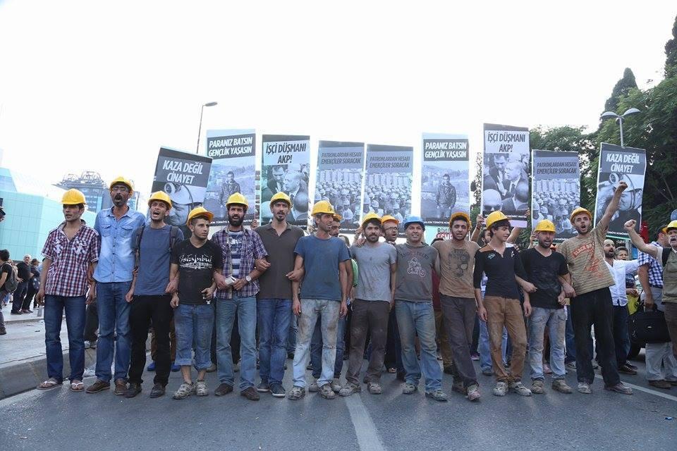 İnşaat ve Yapı İşçileri Sendikası'ndan Yunanistan'da greve çıkan emekçilerle ve PAME'yle dayanışma mesajı