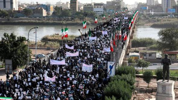 İran Devrim Muhafızları: Dış güçler tarafından çıkarılan kargaşaya karşı galip geldik