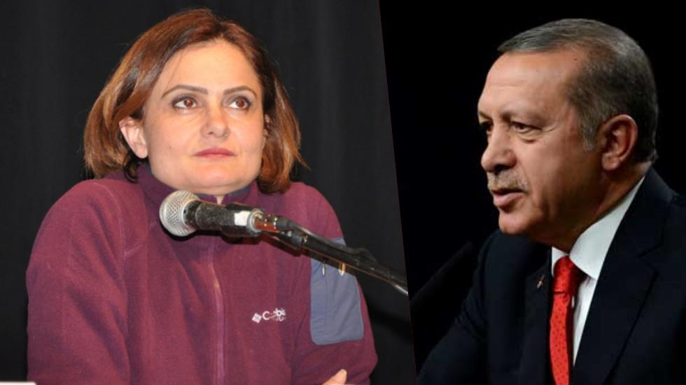 Erdoğan'dan Kaftancıoğlu'na 700 bin liralık hakaret davası