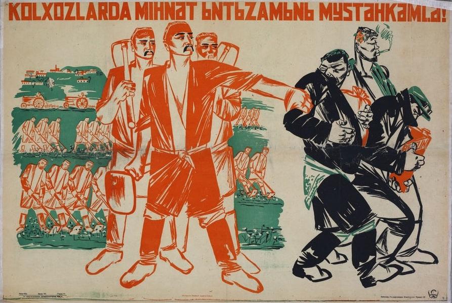 Hafıza-i Beşer | 5 Ocak 1930: Sovyetler Birliği'nde tarımın kolektivizasyonu yasası çıkarıldı