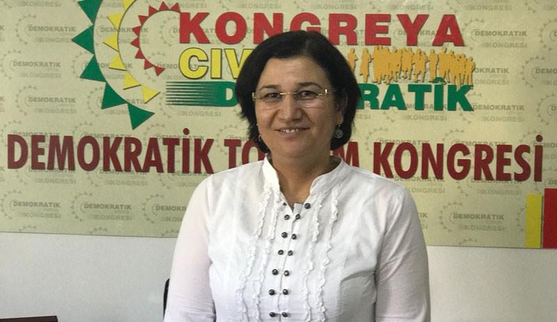 Demokratik Toplum Kongresi Eş Başkanı Leyla Güven tutuklandı
