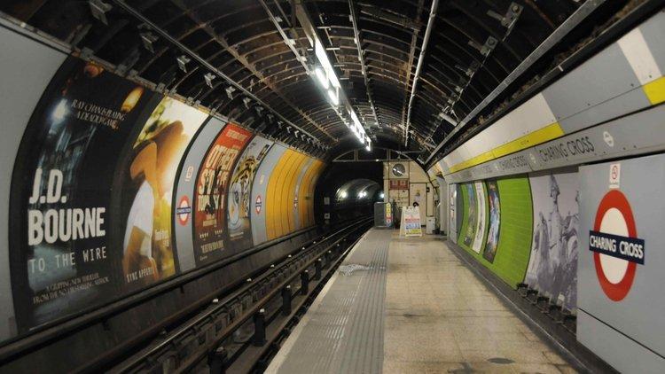 Londra'da metro istasyonu kapatıldı!