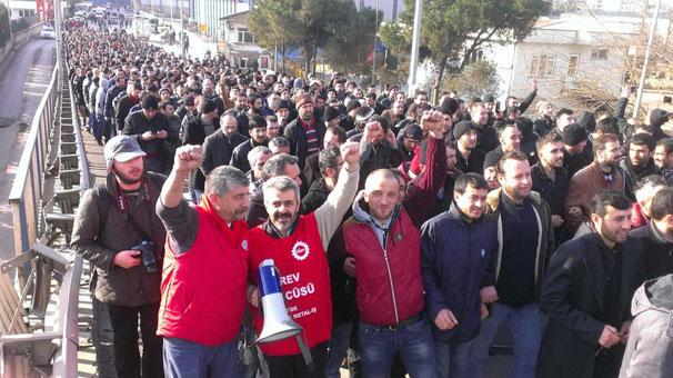 Metal işçileri grev kararını açıkladı!