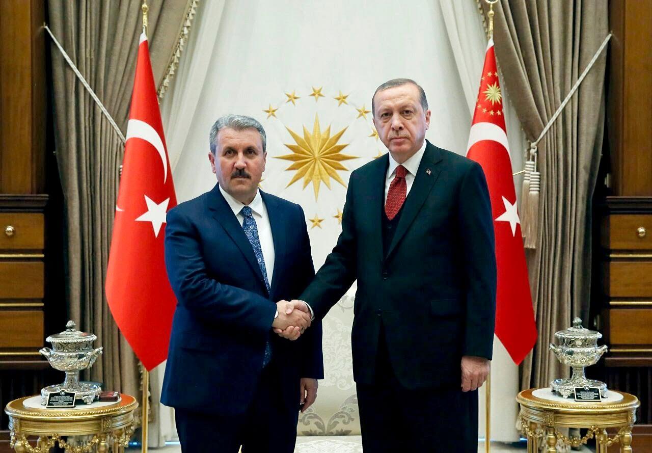 BBP'li Destici: Erdoğan, AKP'ye katılmam için teklifte bulundu