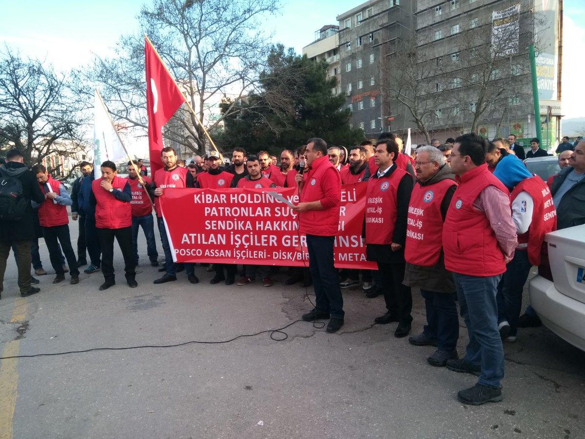 Patron istedi, Bakanlık Posco işçilerinin sendika yetkisini gasp etti!