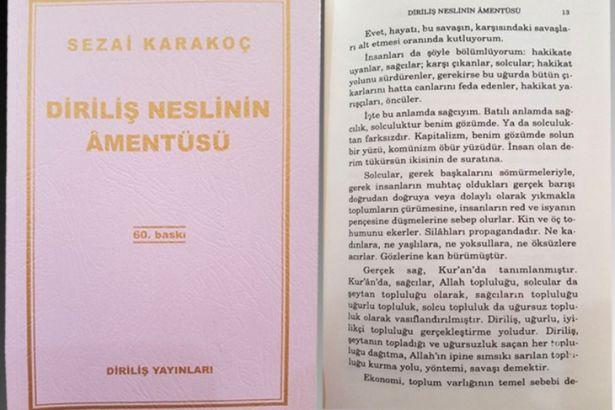 Okullarda bu kitap dağıtılıyor: Sağcılar Allah topluluğu, solcular şeytan topluluğu