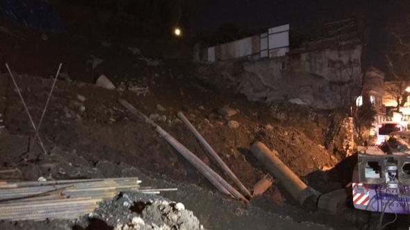 Bursa'da toprak kayması: 120 kişi tahliye edildi