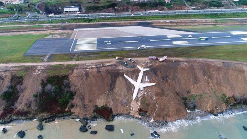 Pistten çıkan uçak için son karar verildi