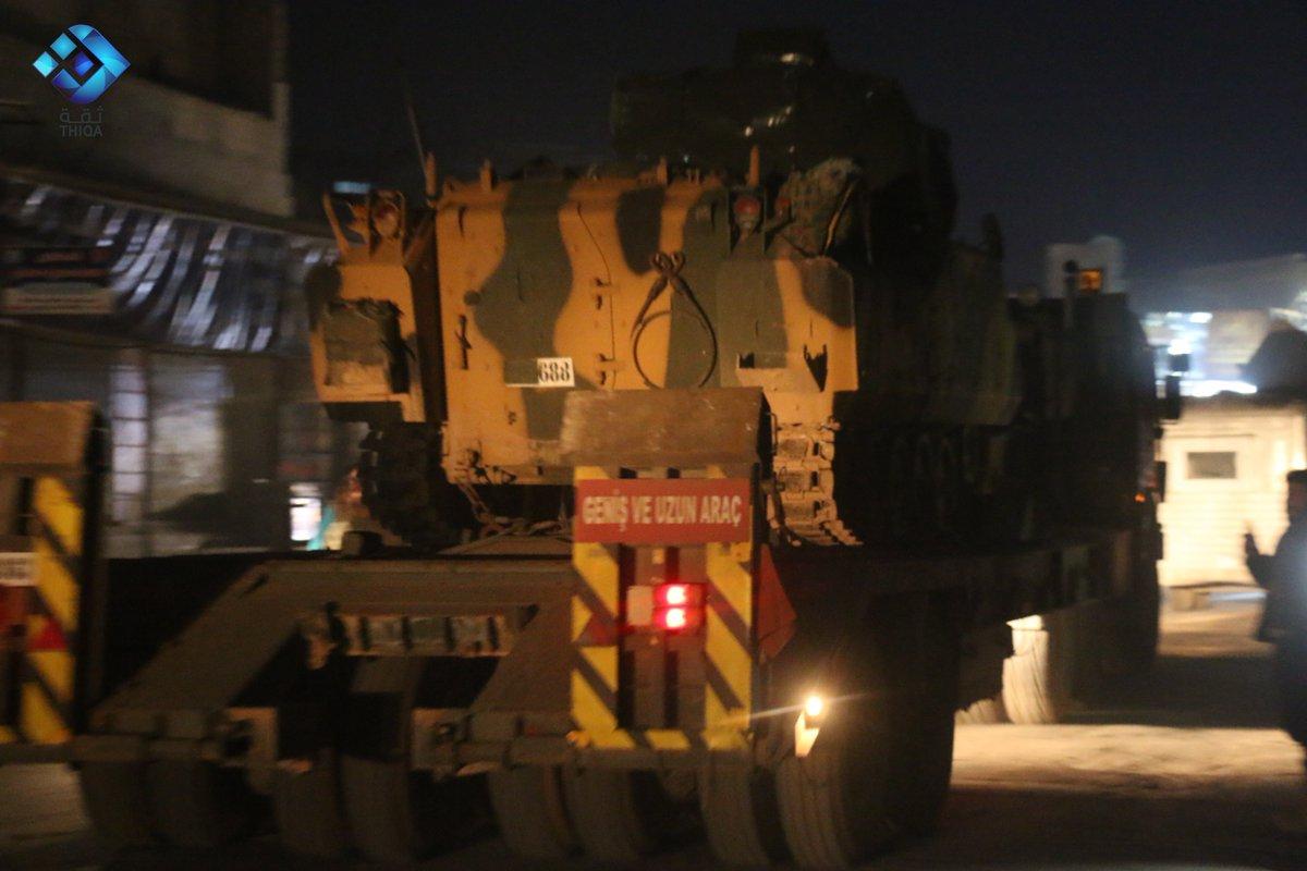BBC muhabiri: TSK'ya ait askeri konvoy güney Halep'e gitmek istedi, Suriye ordusu ateş açtı