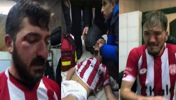 İstanbul'a deplasmana gelen futbolculara saldırı
