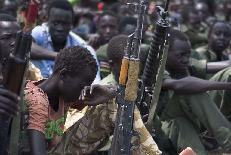 Birleşmiş Milletler Güney Sudan'da 311 çocuk askerin serbest bırakıldığını duyurdu