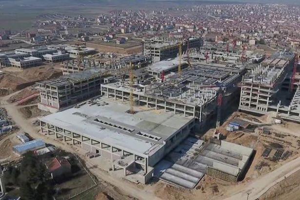 Şehir hastanesi inşaatında iş cinayeti
