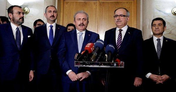 'İttifak pakedi' Meclis'te: İki partiden ortak açıklama