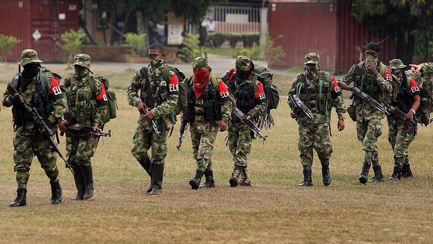 ELN'den hükümete grev ve silahlı eylem uyarısı