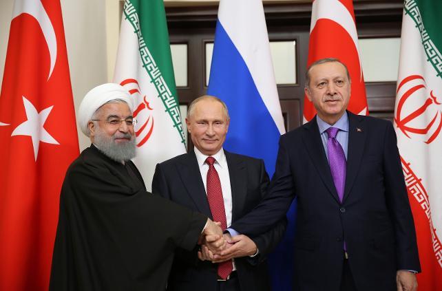 Erdoğan-Putin-Ruhani bir araya gelecek