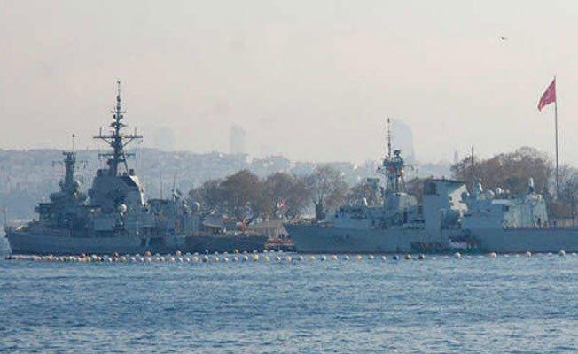 Boğaz'a demir atan NATO gemileri için dikkat çeken açıklama