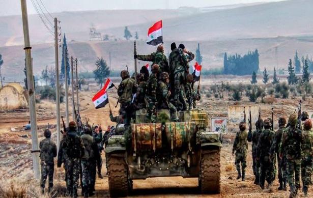 Suriye ordusu Dera'da ilerlemeyi sürdürüyor