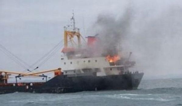 Sinop'ta gemide patlama: 1 ölü, 1 yaralı