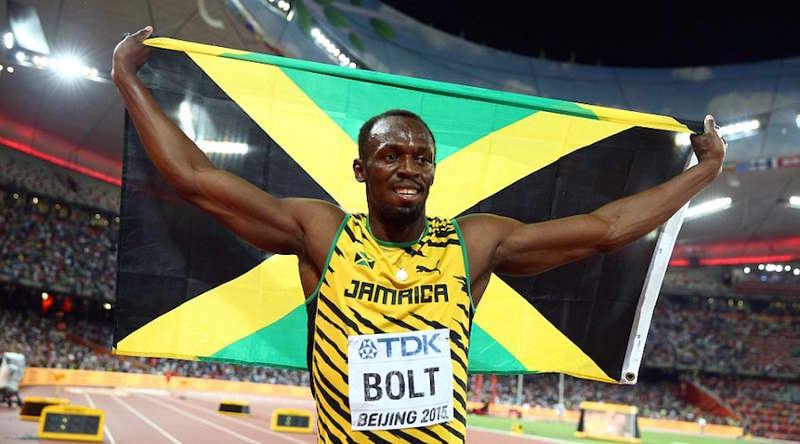 Usain Bolt futbol