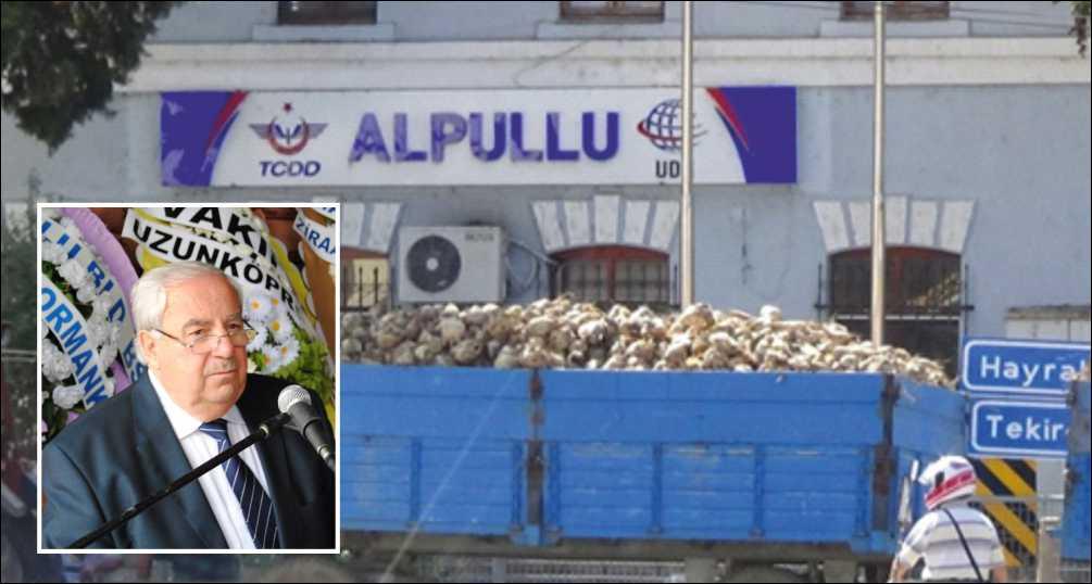 Şeker fabrikalarının özelleştirilmesi protesto edildi