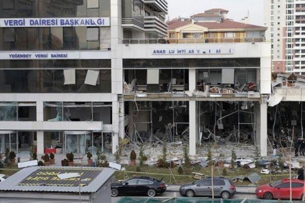 Ankara Vergi Dairesi'ndeki patlamayla ilgili yeni gelişme