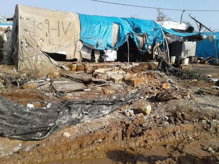 Sınırdaki mülteci kampına roket atıldı: 3 ölü, 15 yaralı