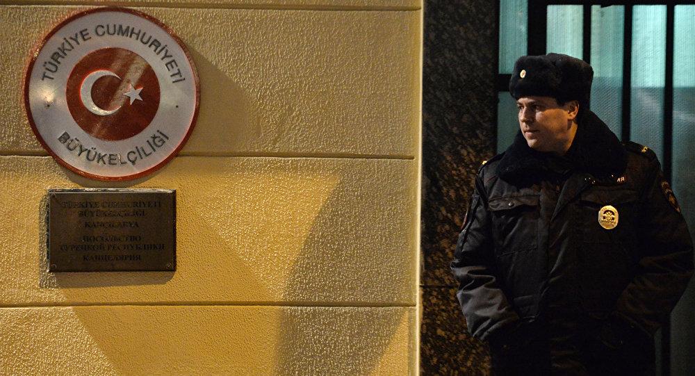Türkiye'nin Moskova Büyükelçiliği'ne şüpheli paket gönderildi