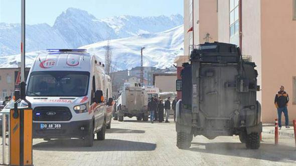 Çukurca'da füze saldırısı