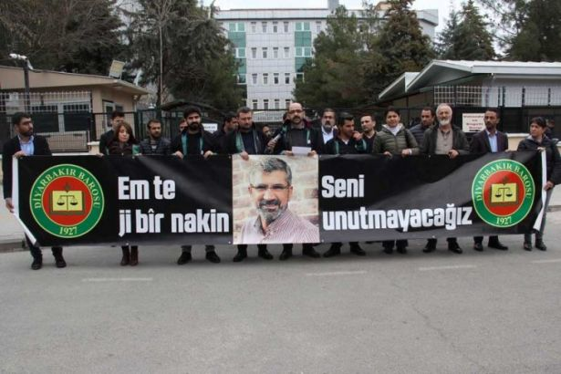 Diyarbakır Barosu'ndan Tahir Elçi eylemi