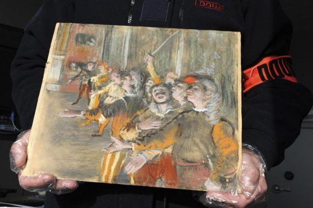 Müzeden çalınan Edgar Degas tablosu otobüste bulundu